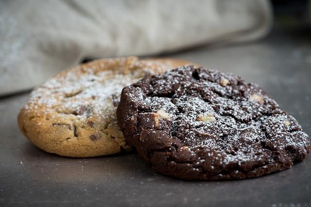 Tasty Dark Chocolate Cookies
